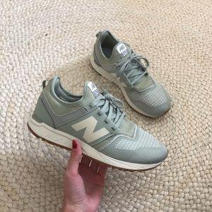 New Balance • Sage Green 247 RevLite Sneakers